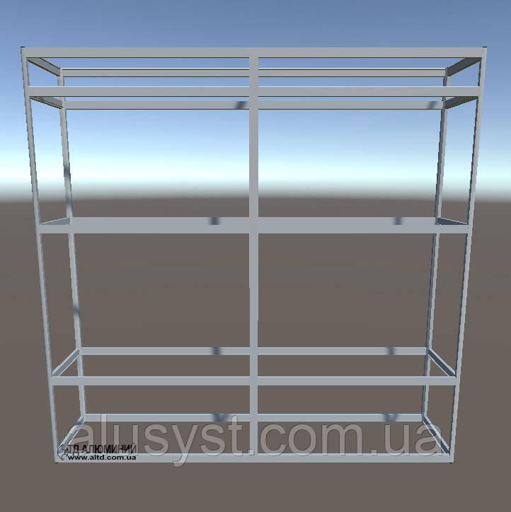 Торговая мебель | Конструктор из торговых профилей М-29
