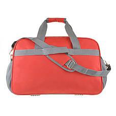 Дорожная сумка красная TONGSHENG 55x37x23 нейлон  кс99501кр, фото 3