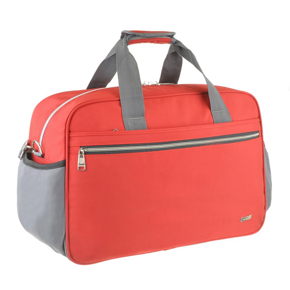 Дорожная сумка красная TONGSHENG 55x37x23 нейлон  кс99501кр