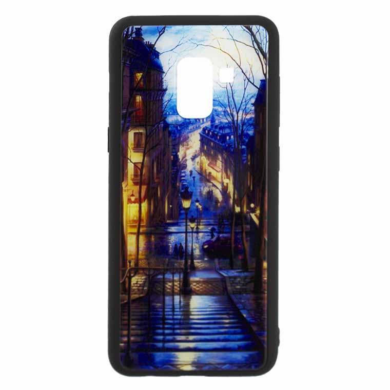 Чехол накладка Glass Case New Samsung J6 2018 J600 лестница