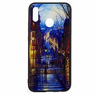 Чехол накладка Glass Case New Huawei P20 Lite, Nova 3e лестница