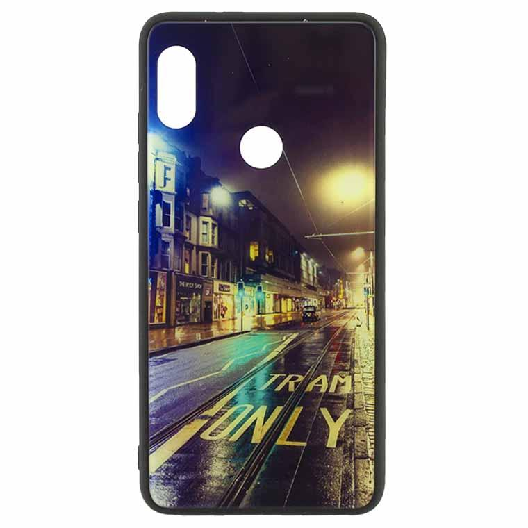 Чехол накладка Glass Case New Huawei P20 Lite, Nova 3e дорога