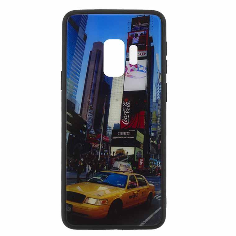 Чехол накладка Glass Case New Samsung S9 G960 такси