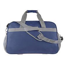Дорожная сумка TONGSHENG синяя 55x37x23 нейлон  кс99501син, фото 2