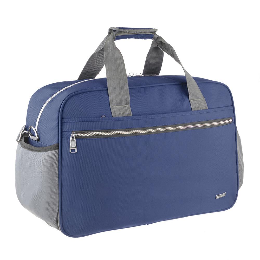 Дорожная сумка TONGSHENG синяя 55x37x23 нейлон  кс99501син
