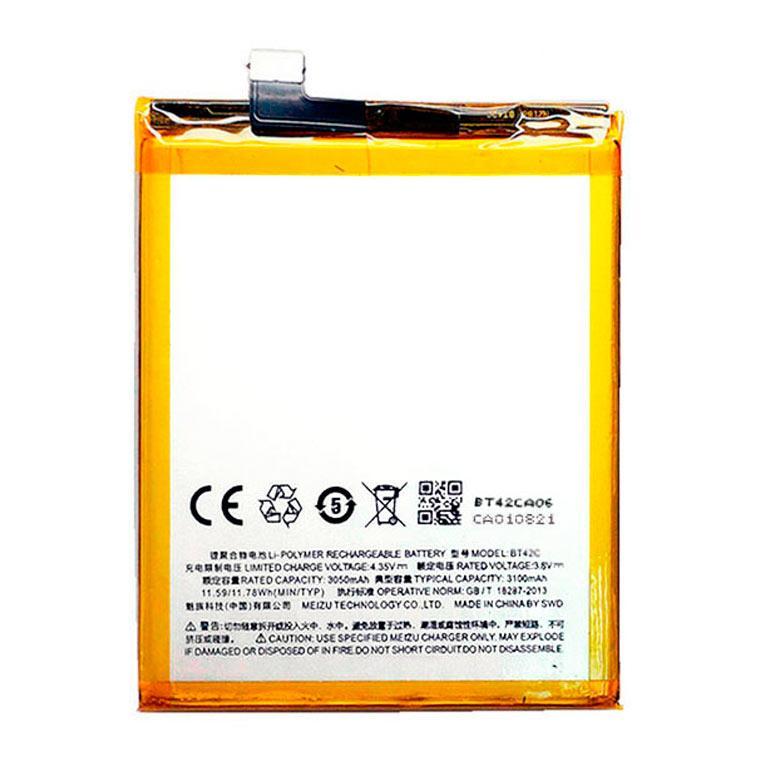 Аккумулятор Meizu BT42C SM210046 3100 mAh для M2 Note AAAA/Original тех.пакет