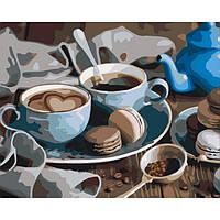 Картина по номерам Идейка - Сладкое утро 40x50 см (КНО5521)