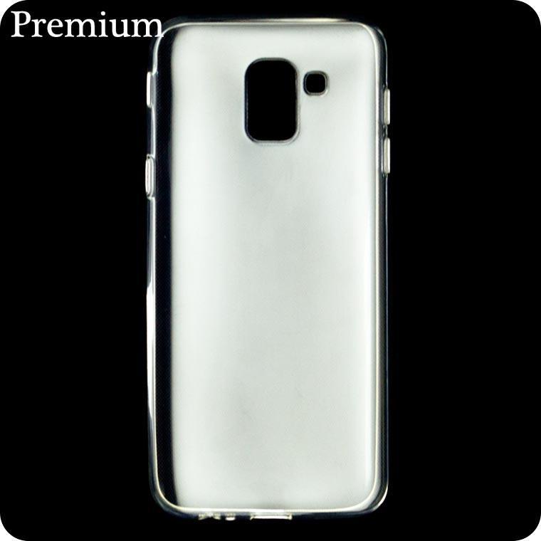 Чехол силиконовый Premium Samsung J6 2018 J600 прозрачный