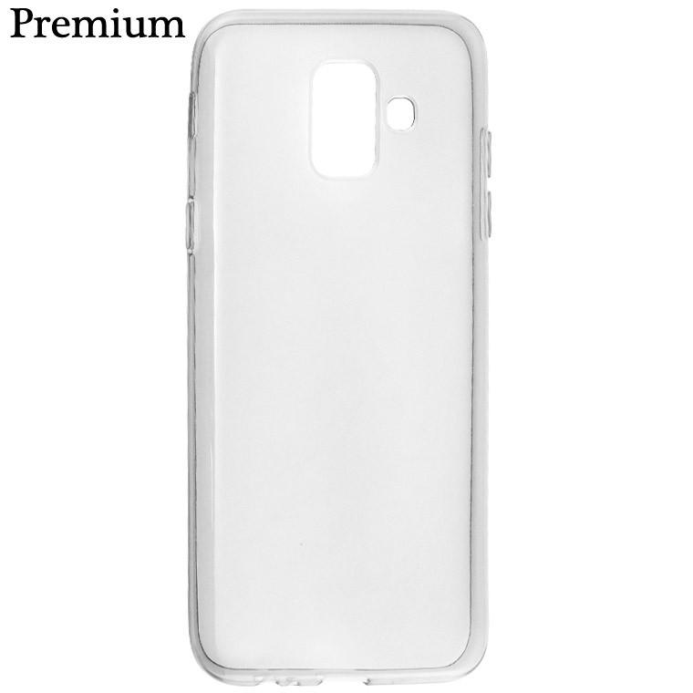 Чехол силиконовый Premium Samsung A6 2018 A600 затемненный