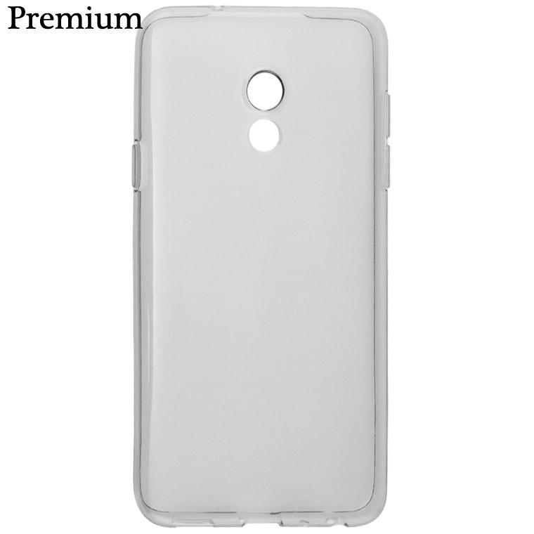Чехол силиконовый Premium Meizu 15 затемненный