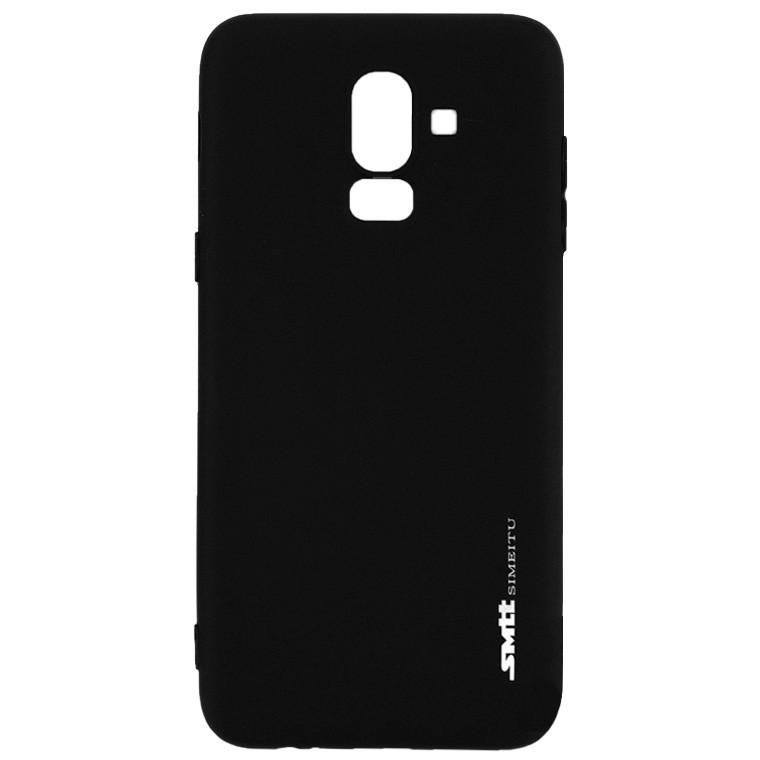Чехол силиконовый SMTT Samsung J8 2018 J810 черный