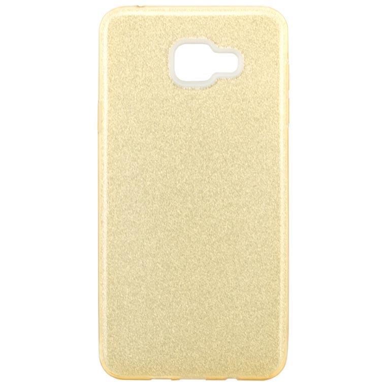 Чехол силиконовый Shine Samsung A5 2016 A510 золотистый