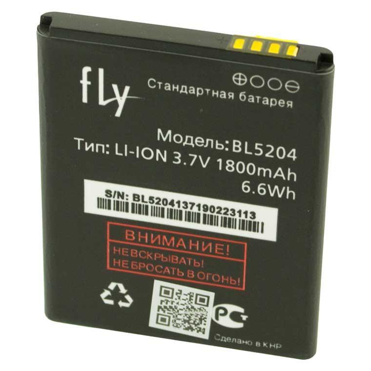 Аккумулятор Fly BL5204 1800 mAh IQ447 AAAA/Original тех.пакет