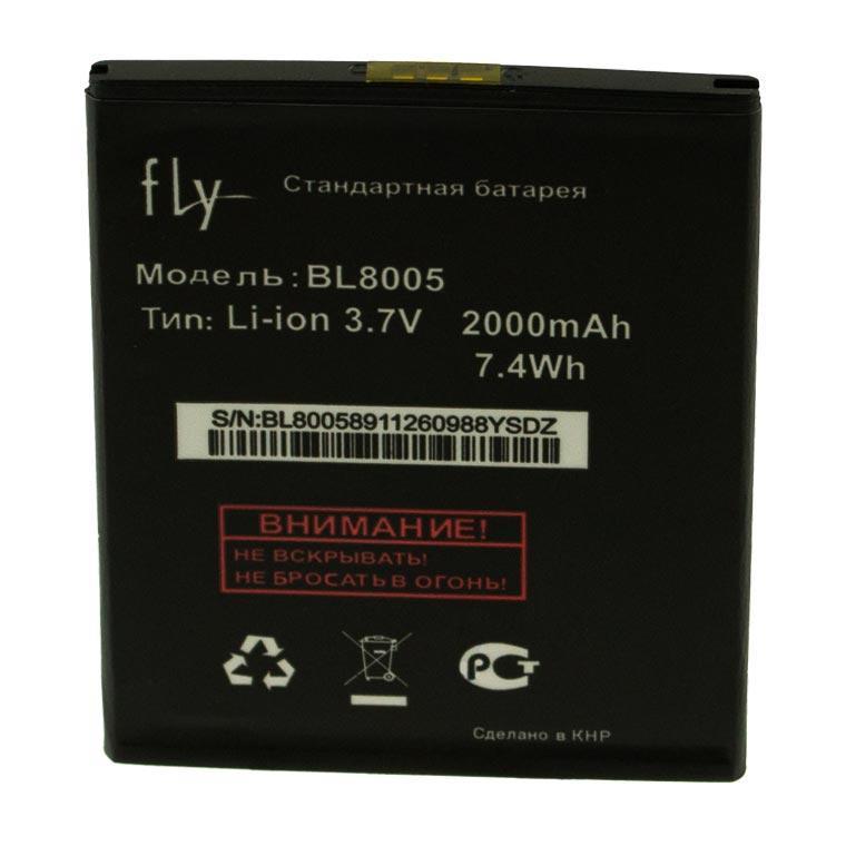Аккумулятор Fly BL8005 2000 mAh EVO Chiс 4 Quad IQ4512 AAAA/Original тех.пакет