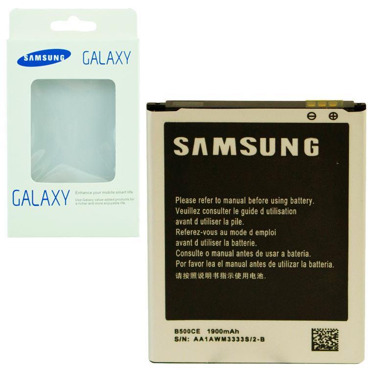 Аккумулятор Samsung B500CE 1900 mAh i9192 AAA класс коробка