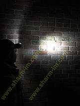 Кепка камуфляжна з доданими ліхтариком, фото 2