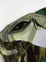 Кепка камуфляжна з доданими ліхтариком, фото 3