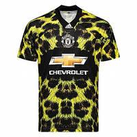 Футбольная форма Манчестер Юнайтед с коротким рукавом 18/19 сезона, леопардовая, EA Sports, фото 1