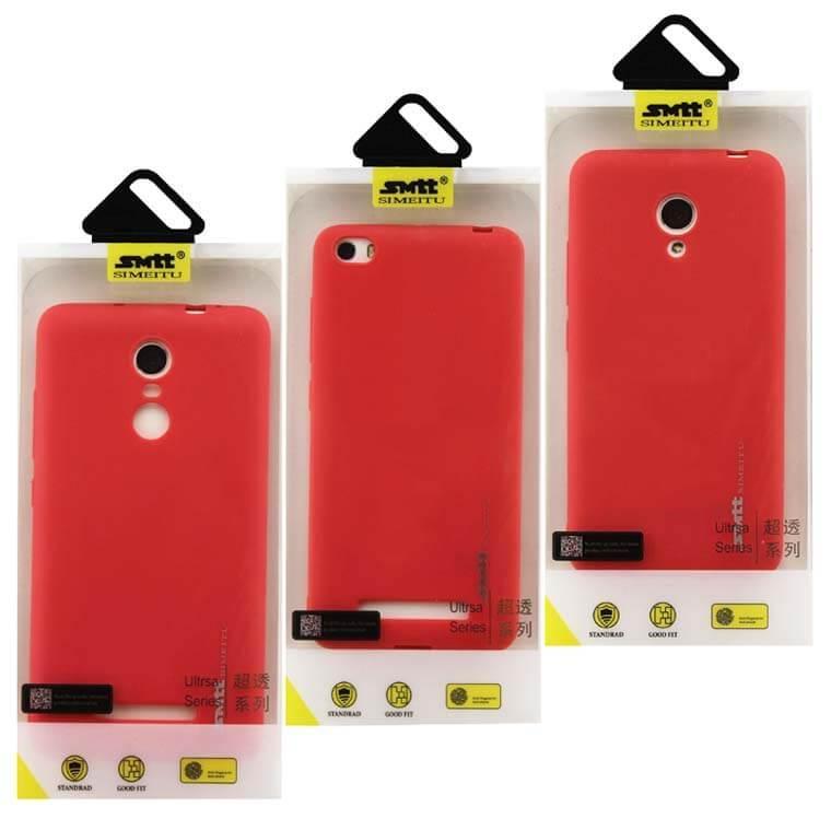 Чехол силиконовый SMTT Huawei P10 Plus красный