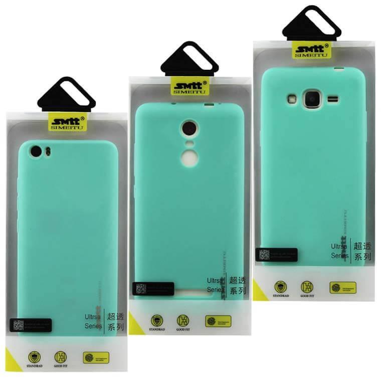 Чехол силиконовый SMTT Huawei Y6 II бирюзовый