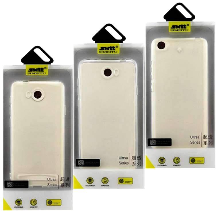Чехол силиконовый SMTT Huawei Y7 прозрачный