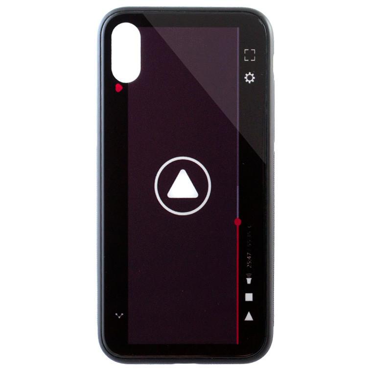 Чехол HD Glass VIP Design AppleiPhone X, iPhone XS ST436