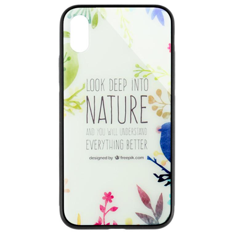 Чехол HD Glass VIP Design AppleiPhone X, iPhone XS ST329