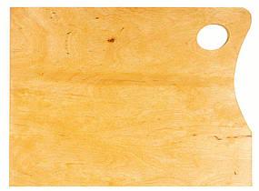 Палитра деревянная квадратная большая 40*31 см.