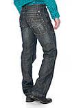 Джинсы мужские Franco Benussi 1012 темно-серые, фото 3