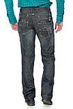 Джинсы мужские Franco Benussi 1012 темно-серые, фото 4