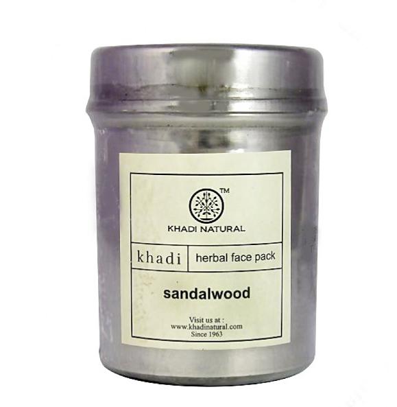 Маска для лица Sandalwood, Khadi Herbals, 50 г