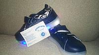 Туфли-кроссовки унисекс 21-26 размер подошва светится ТОМ.М, фото 1