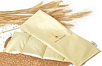 Подушка-грелка Organic с семенами пшеницы 19х50см, фото 1