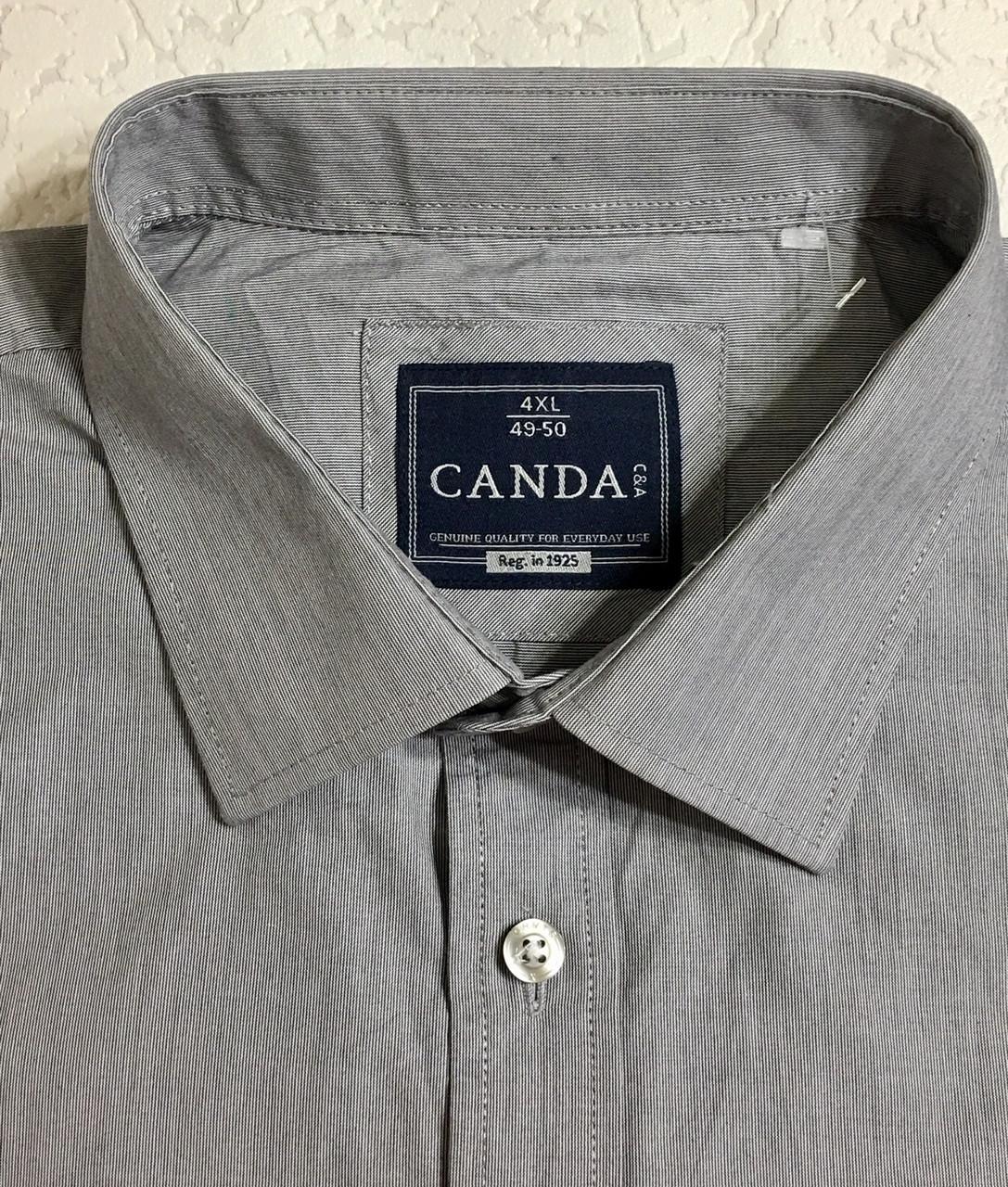 Рубашка хлопковая CANDA.(4XL\ 50)