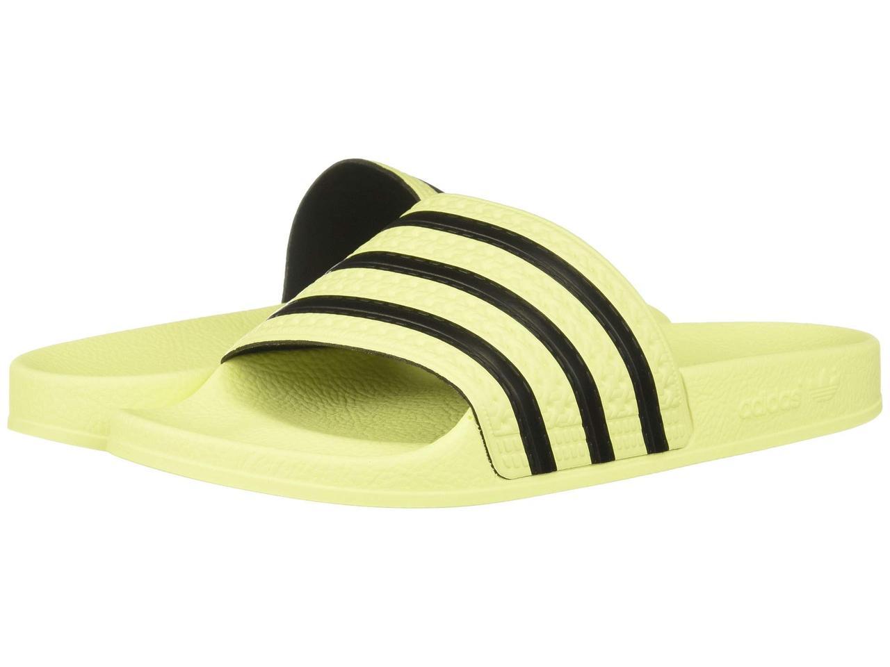 4d7b297855c Сандали/Вьетнамки (Оригинал) adidas Adilette Slide Ice Yellow/Ice  Yellow/Core Black: продажа, цена в Киеве. ...