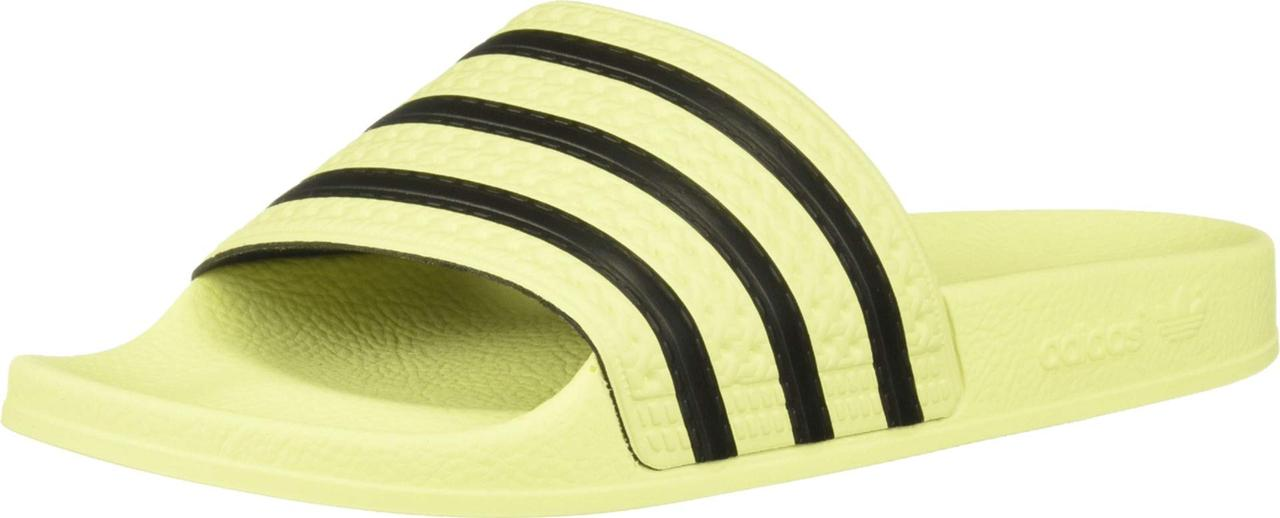 a0d39358466 Сандали/Вьетнамки (Оригинал) adidas Adilette Slide Ice Yellow/Ice  Yellow/Core Black