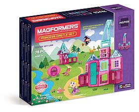 Магнитный конструктор Магформерс Замок принцессы Magformers Princess Castle Set 78 (704004)