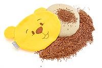 Подушка-грелка 21х18см с семенами льна МишкаOrganic Flax