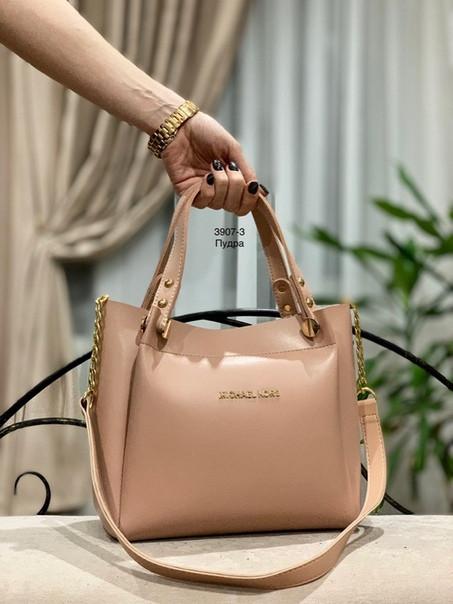 33f4a8bf5035 Женская сумка эко-кожа пудра 3907-3, цена 470 грн., купить в ...