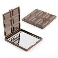 Зеркальце в форме шоколадки