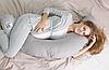 Подушка для беременных и кормления, стандарт 35х200см
