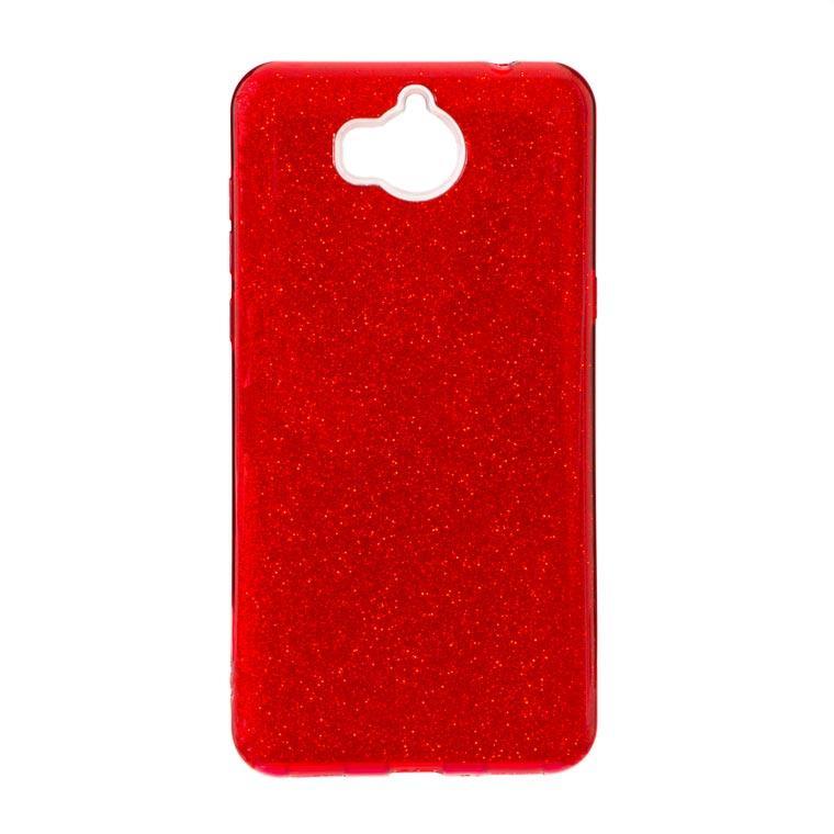 Чехол силиконовый Shine Huawei Y5 2017 красный