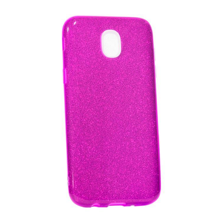 Чехол силиконовый Shine Samsung J7 2017 J730 фиолетовый