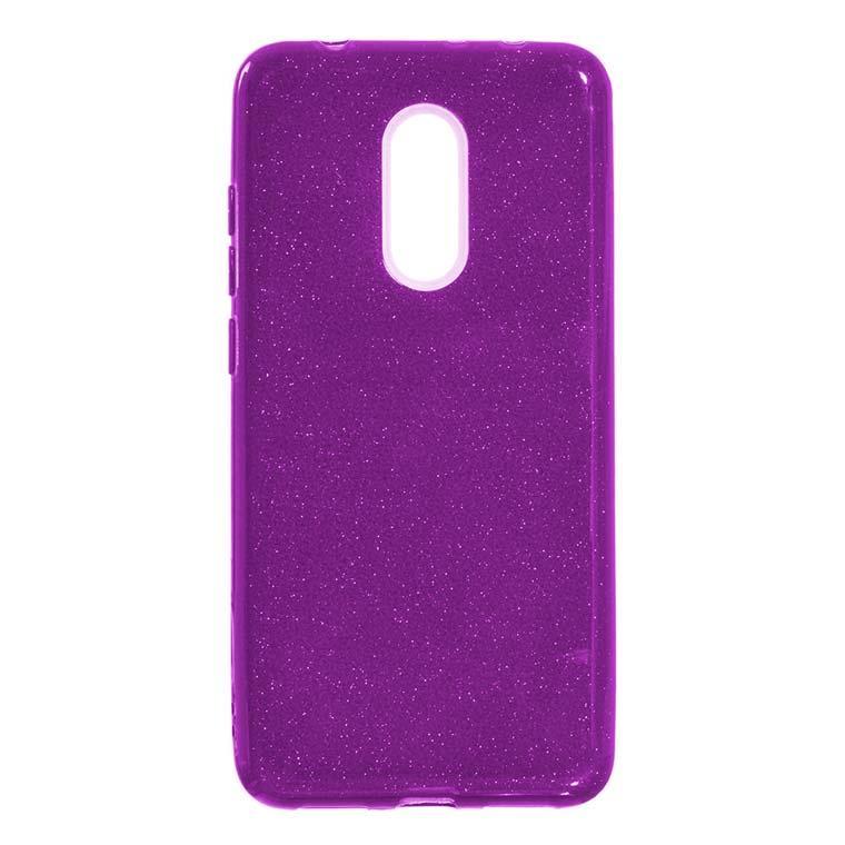Чехол силиконовый Shine Xiaomi Redmi 5 фиолетовый