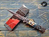 Нож выкидной Байкер стилет