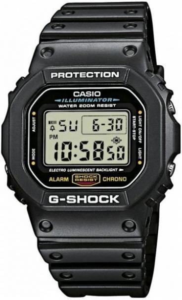 Casio DW-5600E-1VQ оригинал