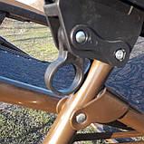 Шезлонг кресло для отдыха на природе 140 кг, фото 8