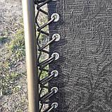 Шезлонг кресло для отдыха на природе 140 кг, фото 7