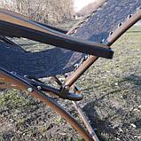 Шезлонг кресло для отдыха на природе 140 кг, фото 5