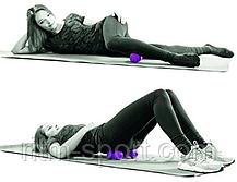 Двойной мяч массажный в форме арахиса с шипами, фото 3